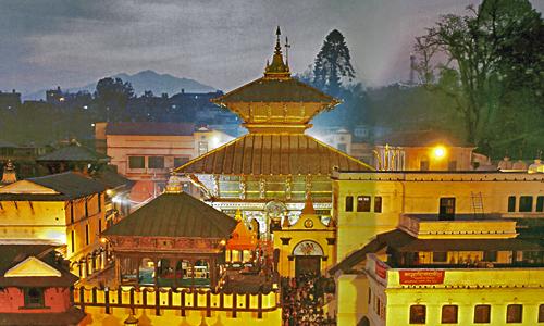 पशुपतिनाथ मंदिर नेपाल
