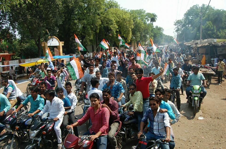 गंजबासौदा नशामुक्ति वाहन रैली