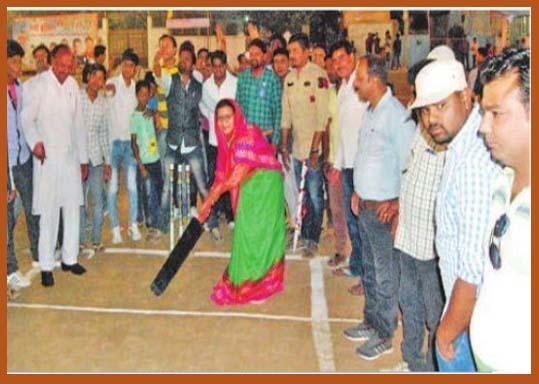 क्रिकेट टूर्नामेंट का शुभारंभ