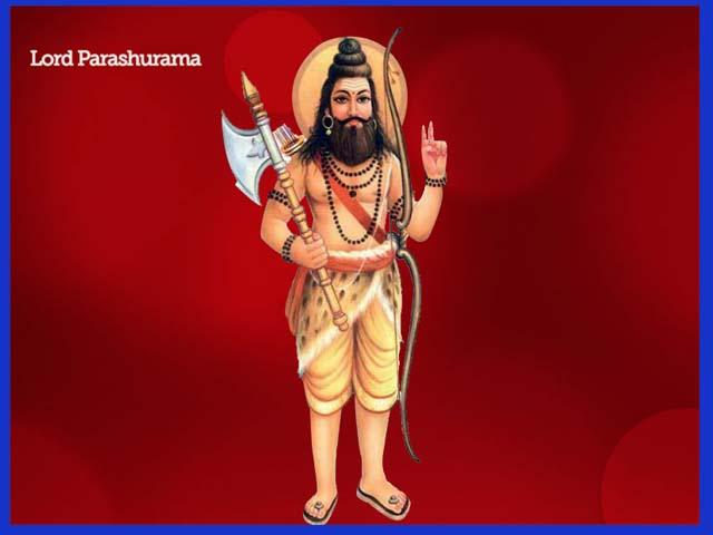 धूमधाम से मनायी परशुराम जयंती